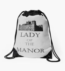 Lady of the Manor Drawstring Bag