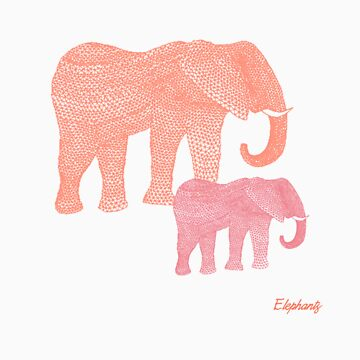 i love elephants von miiaa