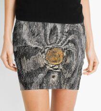 Wood knot .2 Mini Skirt