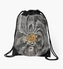 Wood knot .2 Drawstring Bag