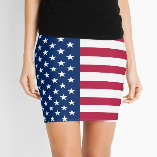 United States Flag - USA Stars and Stripes Mini Skirt