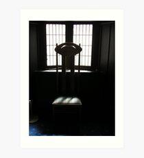 Mackintosh Chair Art Print