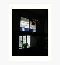 Mackintosh Lightshade & Window (2) Art Print