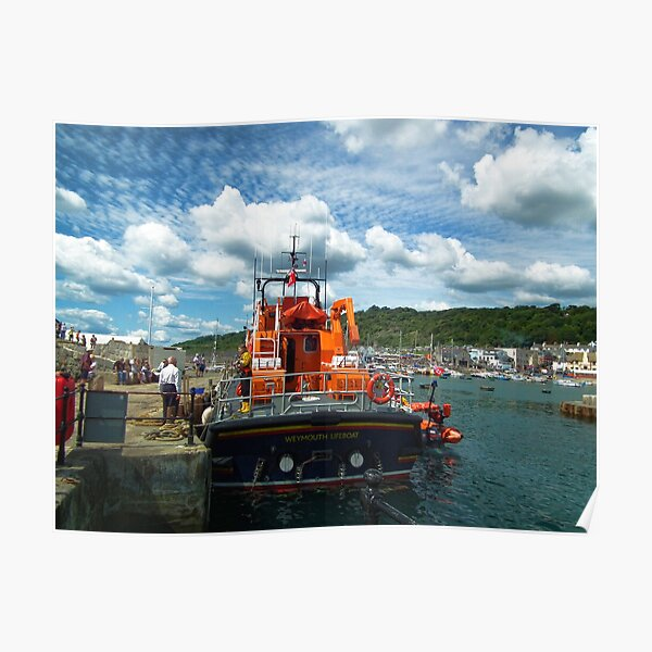 Ernest And Mabel Weymouth Lifeboat Poster