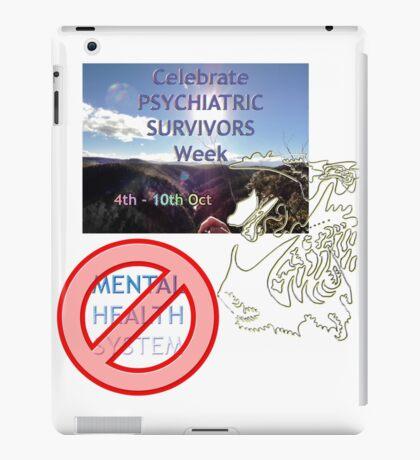 Celebrate Psychiatric Survivors Week iPad Case/Skin