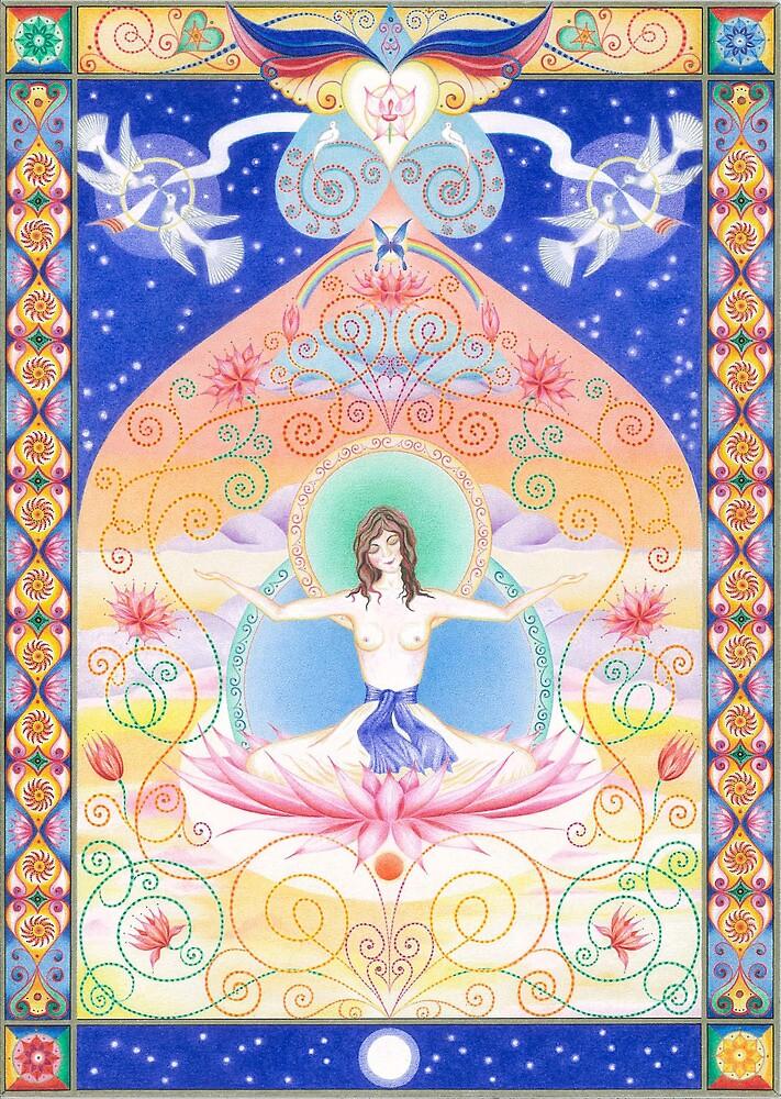 White Tara - Wisdom by Gill Rippingale