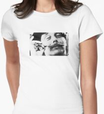 Historical Hipsters - HG Wells Womens Fitted T-Shirt