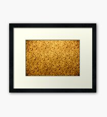 Text Lux Framed Print