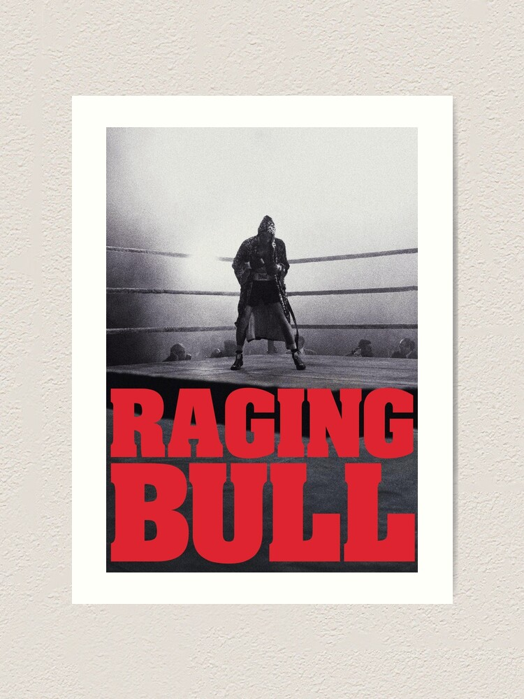 """Raging Bull Title Poster"" Art Print by TheDreadfulZero ..."