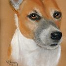 Roxy in pastel by Woodie
