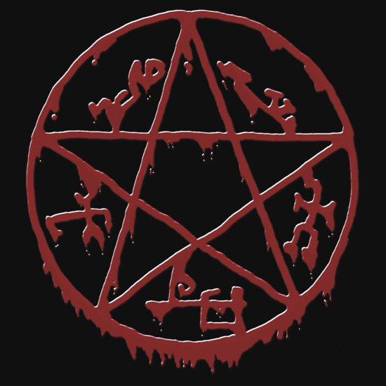 Bloody Devil's trap | Unisex T-Shirt, a t-shirt of blood