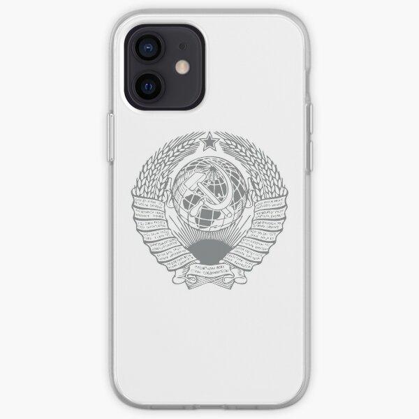 USSR State Emblem iPhone Soft Case