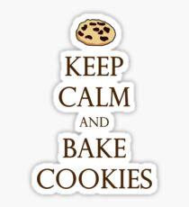 Keep Calm and Bake Cookies Sticker