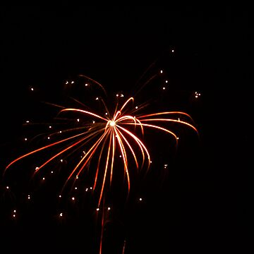 Firework in Santa Ana, Costa Rica, shot 3 by guytsch