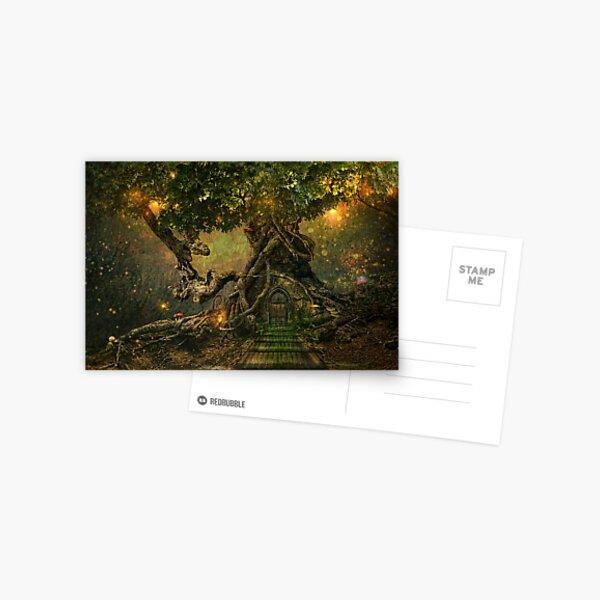 treescape Postcard