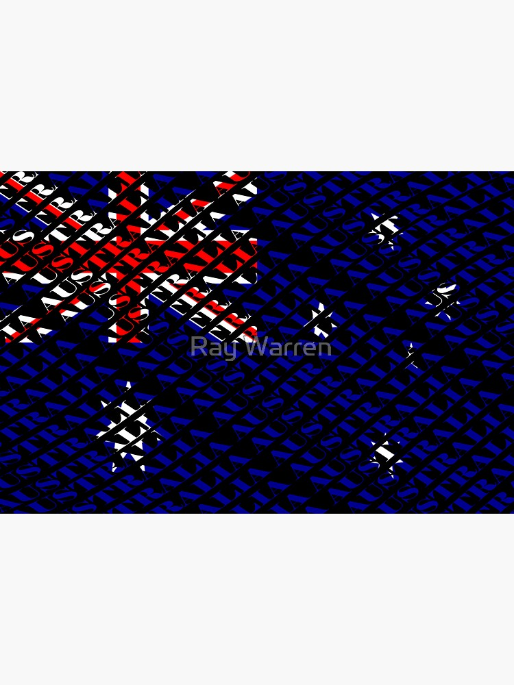 Australian Patriot (type on black) by RayW