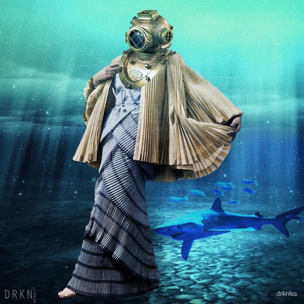 Underwater Friendship by Leyzeeart