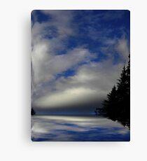 Where Earth Meets Sky ! Canvas Print