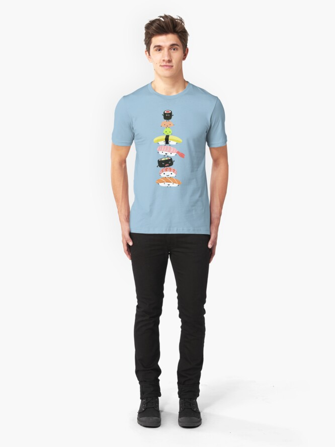 Alternate view of Sushi Stack Slim Fit T-Shirt