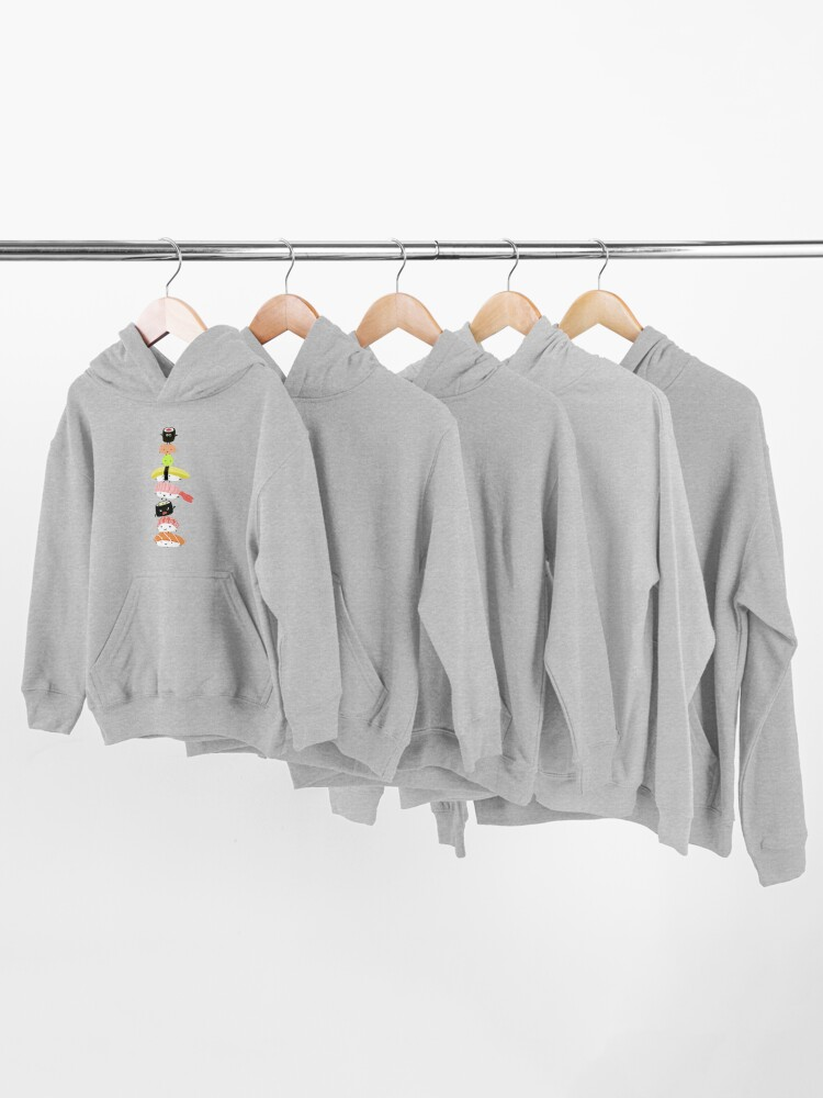 Alternate view of Sushi Stack Kids Pullover Hoodie