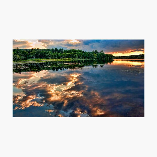 Reflection on the Water Photographic Print