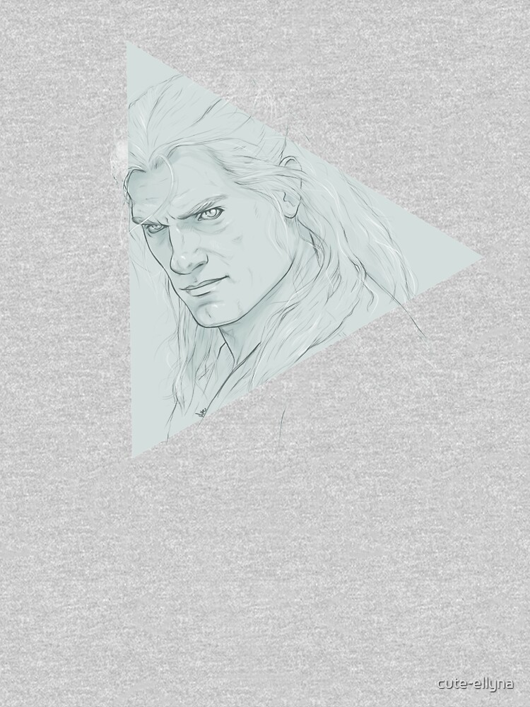Geralt of Rivia - The Witcher by cute-ellyna
