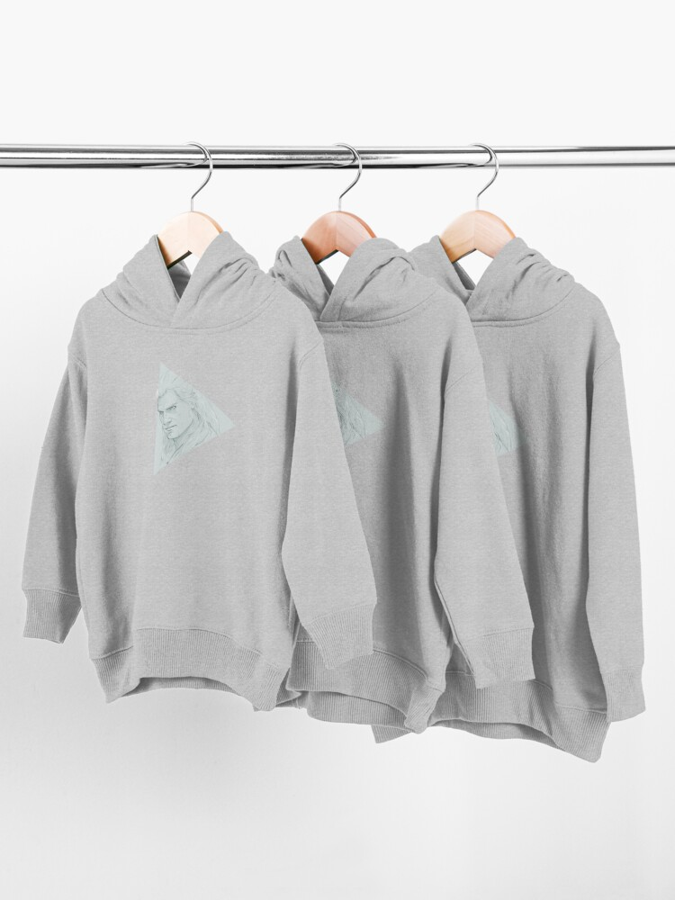 Alternate view of Geralt of Rivia - The Witcher Toddler Pullover Hoodie