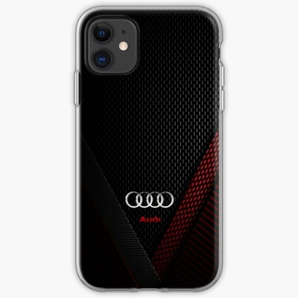 Audi Carbon iPhone Soft Case