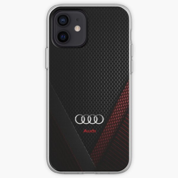 Audi Carbon iPhone Flexible Hülle
