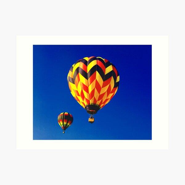Pittsfield Hot Air Balloon Rally 2009 Art Print