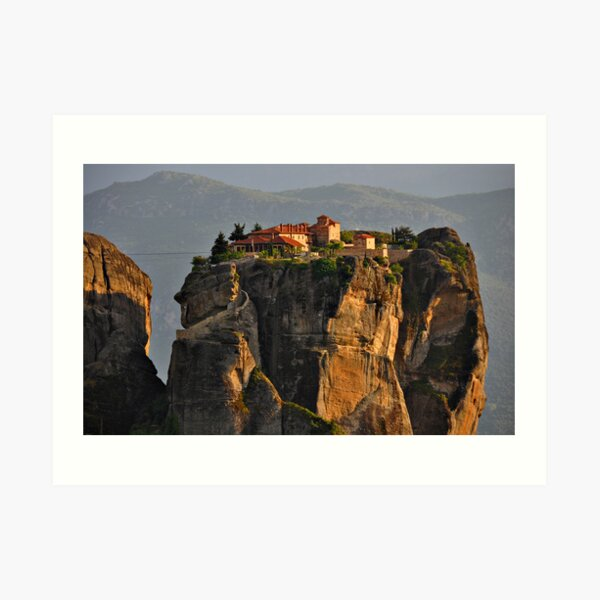 Monastery of the Holy Trinity Art Print