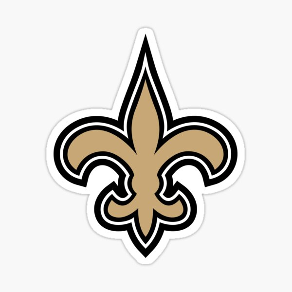 Saints-New Orleans Sticker