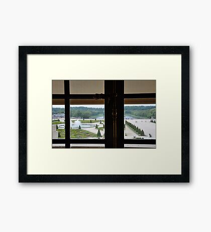 From the Palace Window Framed Print