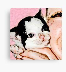 Kitten Love Canvas Print