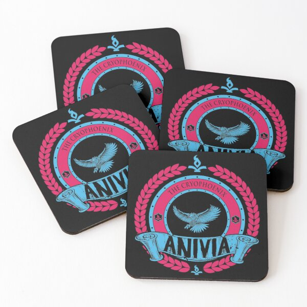 ANIVIA - LIMITED EDITION Coasters (Set of 4)