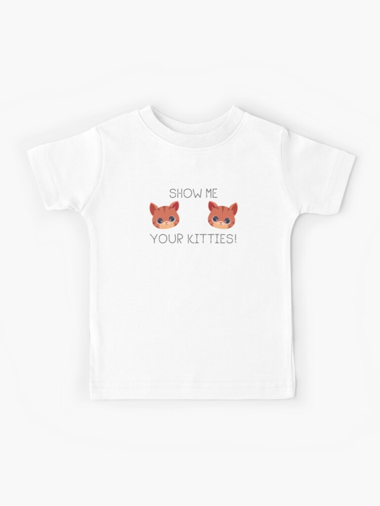 Cute baby shirt Every kid who is a cat lover needs this funny t-shirt.
