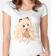 SeeU Hello hello! Women's Fitted Scoop T-Shirt