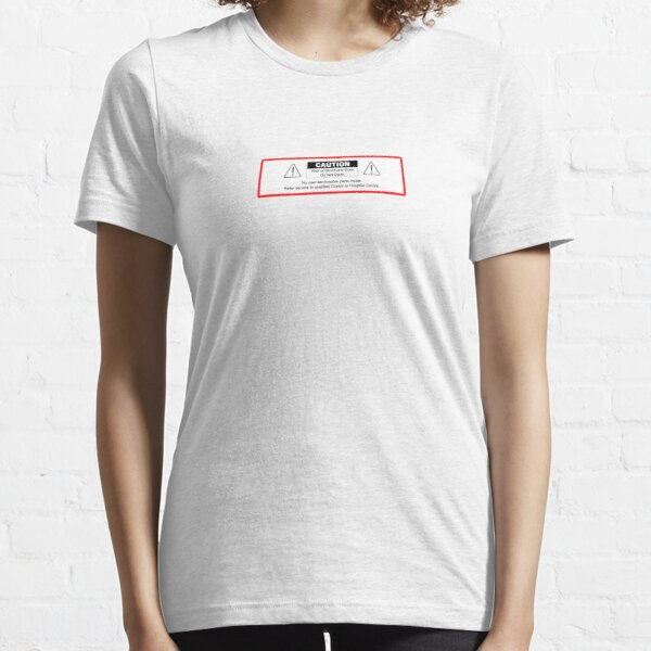 No user serviceable parts inside. Essential T-Shirt