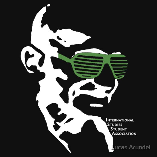 TShirtGifter presents: ISSA 2011 Gandhi Shades (Black)