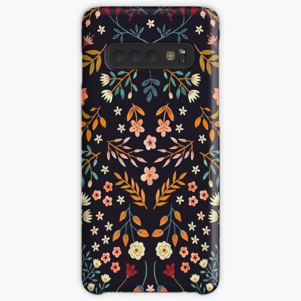 Watercolor Flowers Samsung Galaxy Snap Case