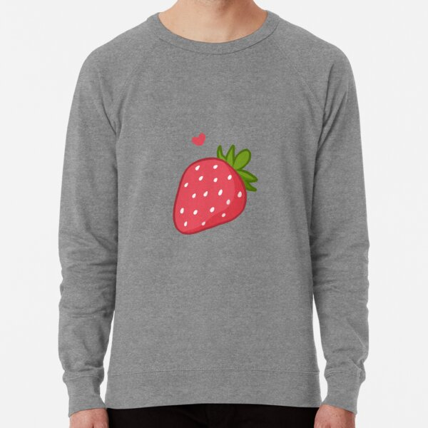 Strawberry  Lightweight Sweatshirt