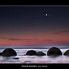 Moeraki Boulders by JayDaley