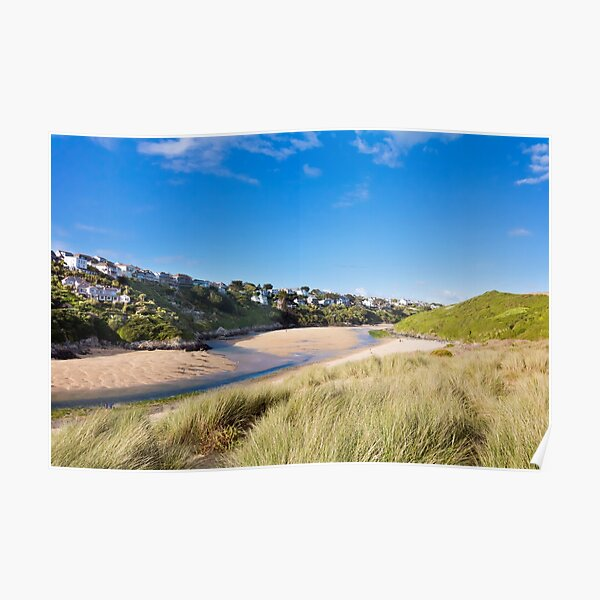 Crantock And The Gannel Poster
