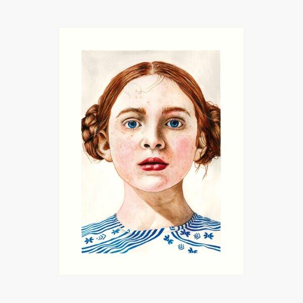 Sadie Sink Art Print