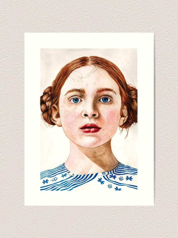 Alternate view of Sadie Sink Art Print