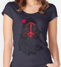 WAR & PEACE Women's Fitted Scoop T-Shirt