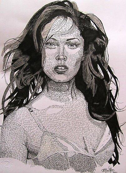 Megan Fox by Richard-Gary Butler