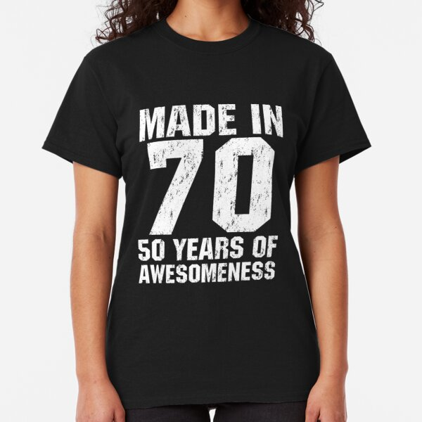 MADE IN 1961 fine vintage Birthday T-shirt gift funny present born classic fun