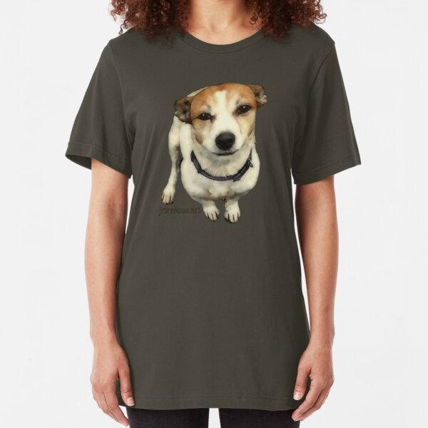 Willia Series 2 Jack Russell Rescue Tee Shirt Slim Fit T-Shirt