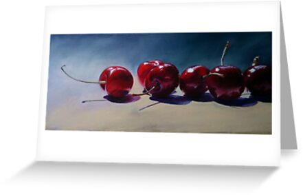 New Season Cherries by Trevor Osborne